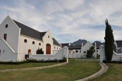 海角荷兰语宅基winelands南非 免版税库存照片
