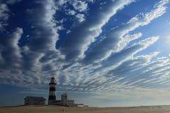 海角累西腓灯塔南非 免版税库存照片