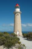 海角couedic du lighthouse 免版税库存图片