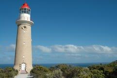海角couedic du lighthouse 免版税库存照片