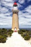 海角couedic du lighthouse 图库摄影