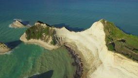 海角Drastis希腊科孚岛空中4K #2 影视素材