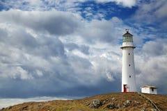 海角Egmont灯塔,新西兰 免版税库存照片