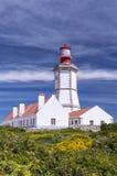 海角Espichel灯塔,葡萄牙 免版税库存照片