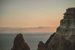 海角Fiolent在克里米亚 免版税库存照片