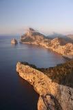海角formentor海岛mallorca 免版税库存图片