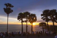 海角hdr海岛普吉岛处理了promthep射击泰国垂直 免版税图库摄影