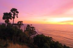 海角hdr海岛普吉岛处理了promthep射击泰国垂直 图库摄影