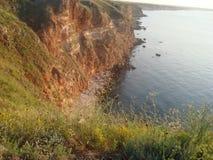 海角Kaliakra 库存图片