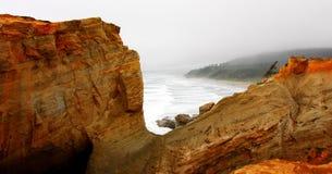 海角Kiwanda -太平洋,城市俄勒冈 免版税库存照片