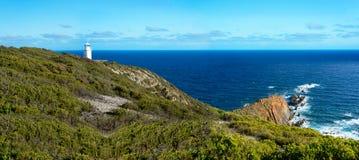 海角Liptrap灯塔,沿海公园,澳大利亚 免版税库存照片