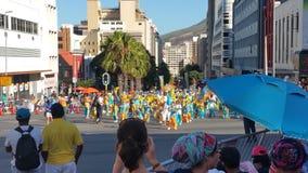 海角minstral狂欢节 免版税库存照片