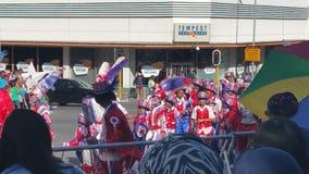 海角minstral狂欢节 图库摄影