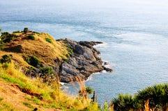 海角phromthep普吉岛泰国 图库摄影