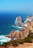 海角Roca,葡萄牙 免版税图库摄影