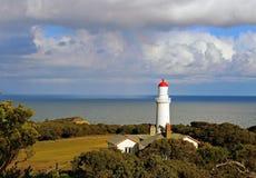 海角Schanck灯塔,澳大利亚 免版税库存照片