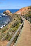 海角Schanck, Mornington半岛,比克,澳大利亚 库存照片