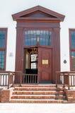 海角Winelands区市政厅在斯泰伦博斯 免版税库存照片