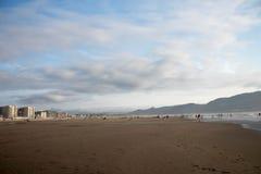 海边俄勒冈海滩 图库摄影
