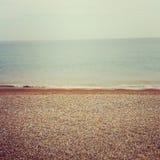 海边在肯特英国 免版税库存照片