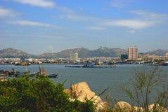海边城市 免版税图库摄影