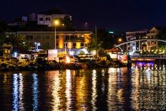 海边夏天城市风景-土耳其 免版税库存图片