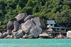 海边小屋 库存照片