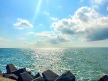 海边景色 免版税库存照片