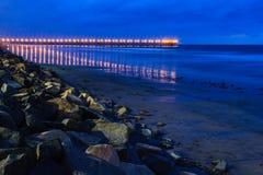海边码头 库存图片