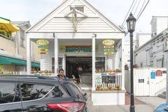 海边礼品店和杂货店 库存照片