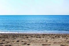 海边线 免版税库存图片