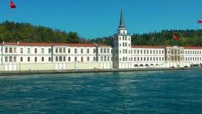 海边视图在伊斯坦布尔土耳其 股票视频
