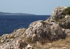 海边远景 库存照片