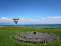 海边,在花呢,英国的Berwick 免版税库存图片