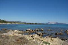 海边,撒丁岛,意大利 免版税库存图片
