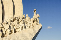 海运发现纪念碑在里斯本,葡萄牙 免版税库存图片