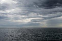 海运和天空 库存照片