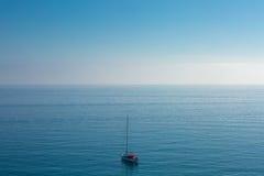 海运和天空 免版税库存照片