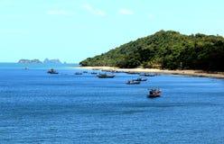 海运在泰国 库存照片