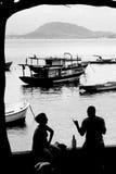 海运场面 免版税图库摄影