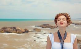 海运妇女 免版税图库摄影