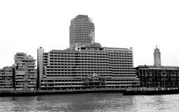 海运容器之家,伦敦 免版税图库摄影