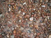 海运小的石头 免版税库存图片