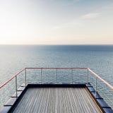 海运平静的视图 库存照片