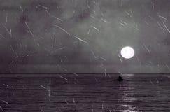 海运横向老照片  库存图片