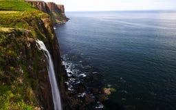 海运瀑布 库存图片