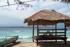 海运热带视图 库存照片