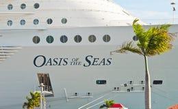 海运的绿洲 免版税库存图片