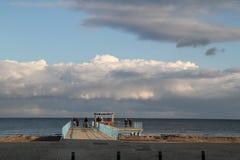 海运的视图 免版税库存照片
