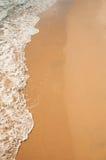 海运的软的通知沙滩的 免版税库存图片